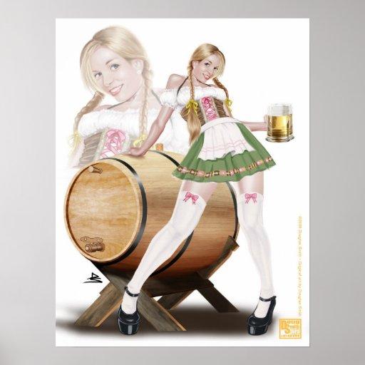 Beer Maiden Poster