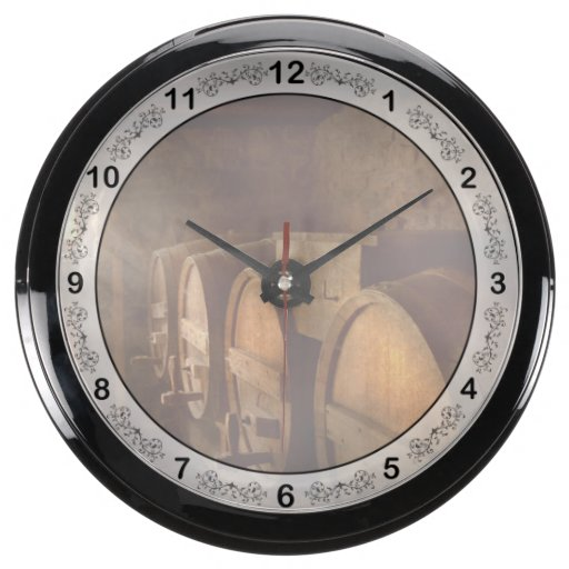 Beer Maker - The brewmasters basement Fish Tank Clock