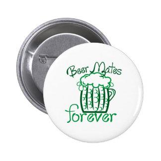 Beer Mates 2 Inch Round Button