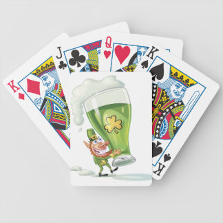 Beer Me Bicycle Playing Cards