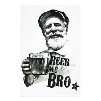 Beer me Bro 14 Cm X 21.5 Cm Flyer