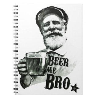 Beer me Bro Notebook