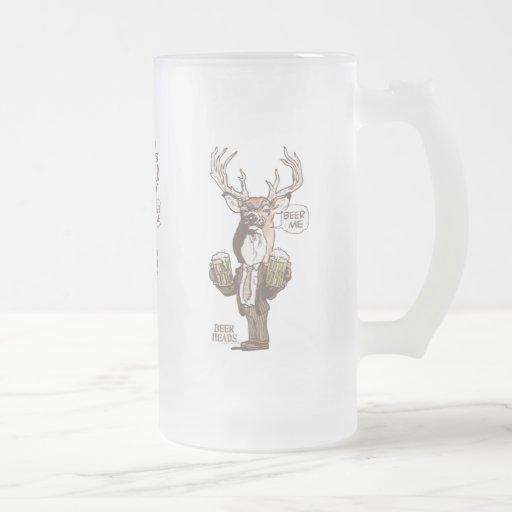 Beer Me Deer by Mudge Studios Coffee Mugs