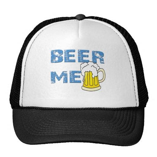 beer me funny cap