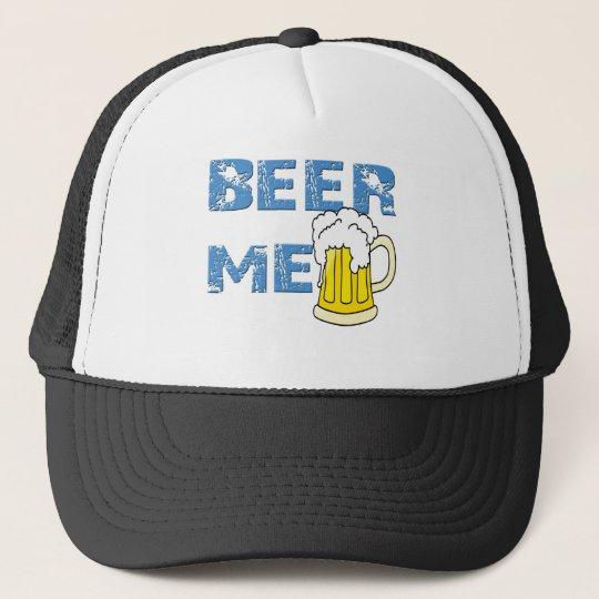 beer me funny trucker hat