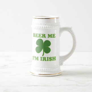 Beer Me Im Irish Beer Stein