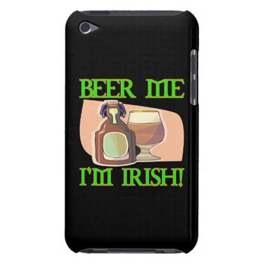 Beer Me Im Irish iPod Touch Case-Mate Case