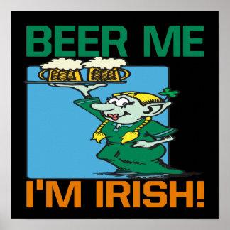 Beer Me Im Irish Print
