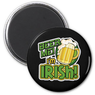 Beer Me I'm Irish St. Patrick's Day Magnet