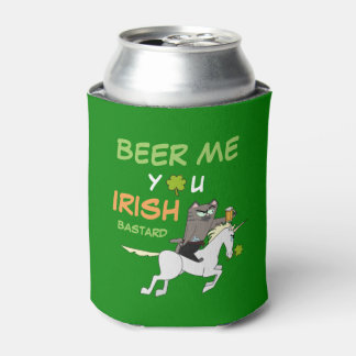 Beer Me You Irish Bastard! St. Patrick's Day Can Cooler