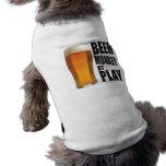 Beer Monkey Doggie Tee Shirt