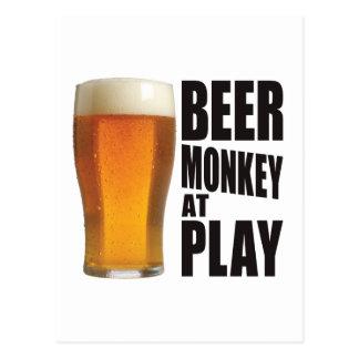 Beer Monkey Post Cards