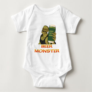 Beer Monster Baby Bodysuit