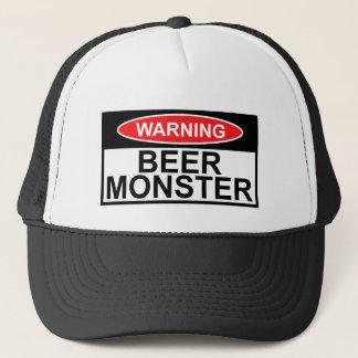 Beer monster trucker hat