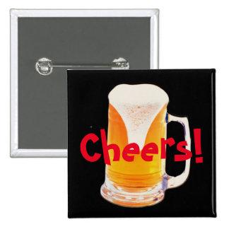 Beer Mug 15 Cm Square Badge