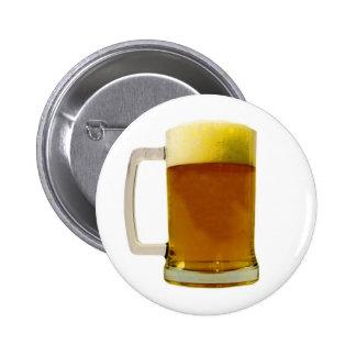 Beer Mug 6 Cm Round Badge