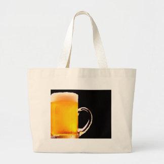 Beer Mug Jumbo Tote Bag