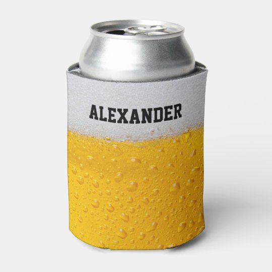 Beer Mug Personalise Can Cooler