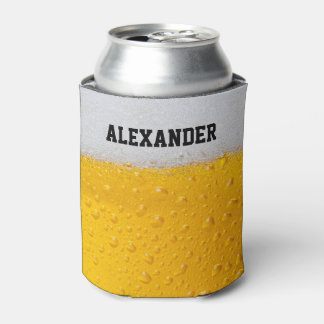 Beer Mug Personalize Can Cooler