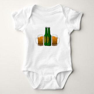Beer Mugs Baby Bodysuit