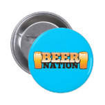 BEER NATION design from The Beer Shop Pinback Button