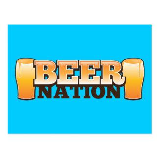BEER NATION design from The Beer Shop Postcard