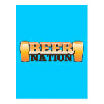 BEER NATION design from The Beer Shop Postcards