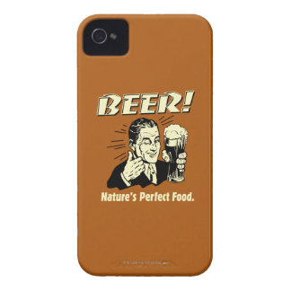 Beer: Nature's Perfect Food iPhone 4 Cases