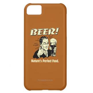 Beer: Nature's Perfect Food iPhone 5C Case