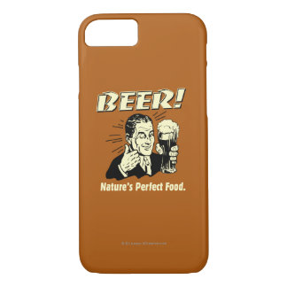 Beer: Nature's Perfect Food iPhone 8/7 Case