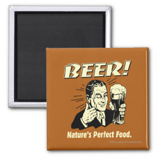 Beer: Nature's Perfect Food Magnet