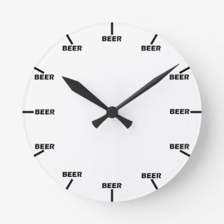 """Beer O' Clock"" Wallclock"