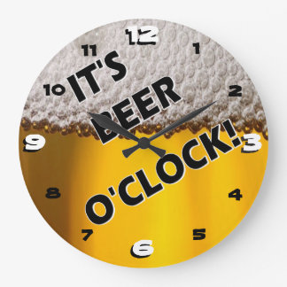 Beer O'clock Somewhere Clock