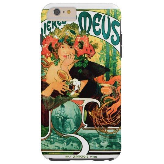 Beer of the Meuse Alphonse Mucha Fine Art