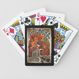 Beer of the Meuse Bicycle Playing Cards