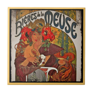 Beer of the Meuse Small Square Tile