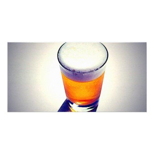 Beer Personalised Photo Card