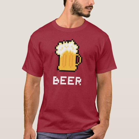 Beer Pixel Icon T-shirt