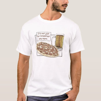 Beer & Pizza for Breakfast Muscle Tee