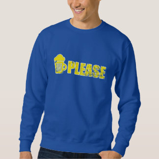 Beer please Men's Basic Sweatshirt
