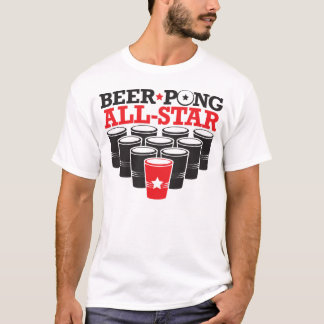 Beer Pong All-Star T-Shirt