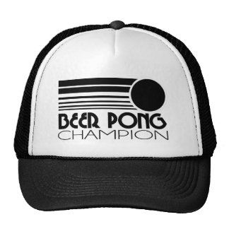 Beer Pong Champion Hats