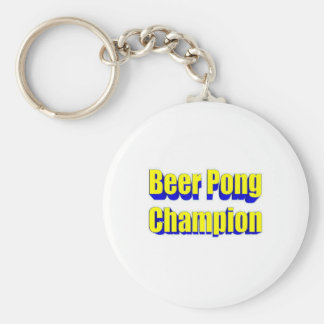 Beer Pong Champion Key Chains