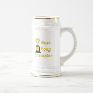 Beer Pong Champion 18 Oz Beer Stein
