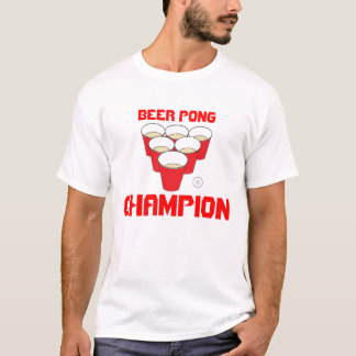 Beer Pong Champion T-Shirt