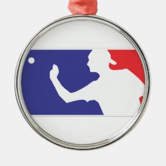 Beer Pong Christmas Ornament