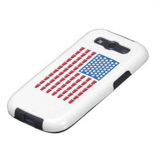 Beer Pong Drinking Game American Flag Samsung Galaxy S3 Cases