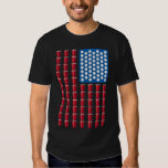Beer Pong Drinking Game American Flag T Shirts