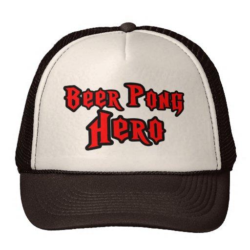 Beer Pong Hero Hats