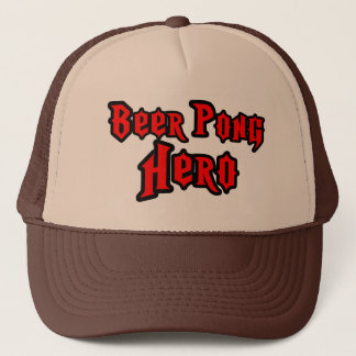 Beer Pong Hero Trucker Hat